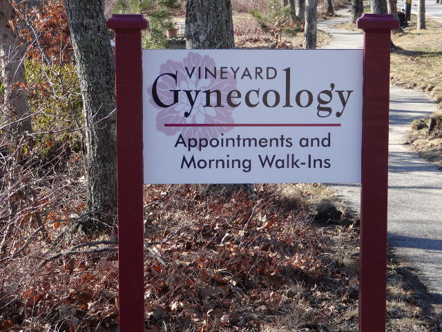 Vineyard Gynecology Sign